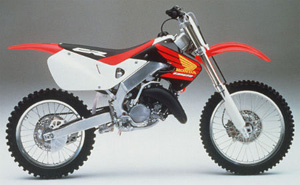 (CD) Manual Book Honda CR125R (1998)