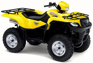 (CD) Manual Book ATV Suzuki King Quad LTA 700